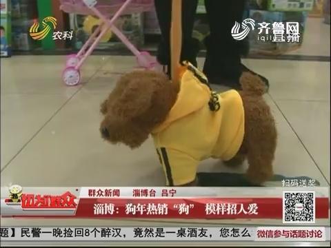 """【群众新闻】淄博:狗年热销""""狗"""" 模样招人爱"""