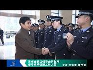济南高新区领导走访慰问春节期间值班工作人员