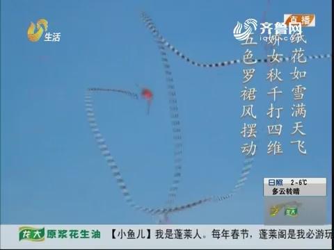 指尖上的传承 潍坊风筝