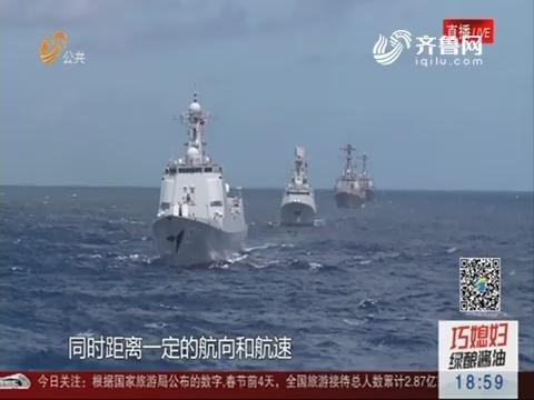 博士舰长万林:强军先锋 补给四海