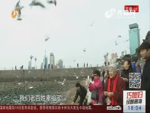 景点人气旺 休闲庆新春