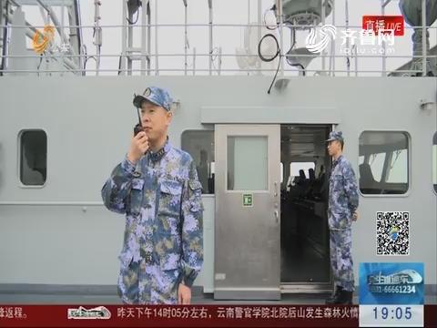 博士舰长万林:练兵大洋 展大国风采