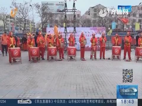 济南:中国人过中国节 民族文明展演来闹春
