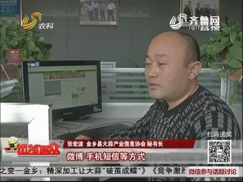 """【农业新旧动能之变】金乡:精深加工让大蒜""""破茧成蝶"""""""