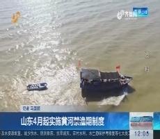山东4月起实施黄河禁渔期制度