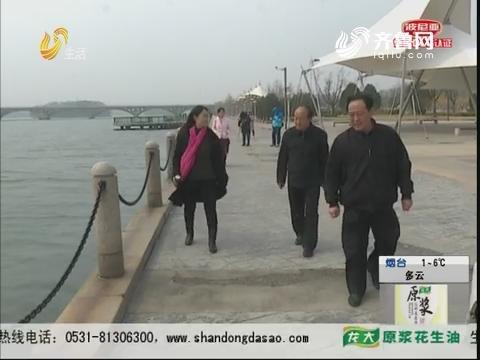 淄博:紧急!男子突然跳进湖里