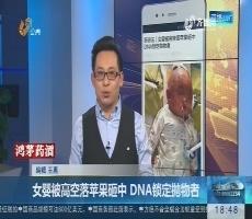 【新说法】女婴被高空落苹果砸中 DNA锁定抛物者