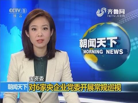 国资委 对6家央企业党委开展常规巡视