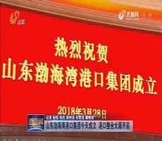 山东渤海湾港口集团今天成立 港口整合大幕开启