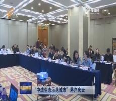 """""""中法生态示范城市""""落户庆云"""
