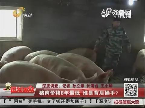 深度调查:猪肉价格8年最低 谁是背后操手?