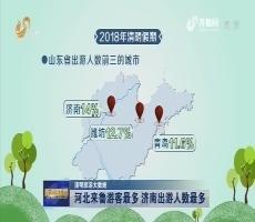 【清明旅游大数据】河北来鲁游客最多 济南出游人数最多