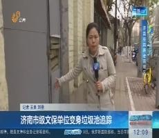 【闪电连线】济南市级文保单位变身垃圾池追踪