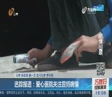 追踪报道:爱心医院关注震博病情