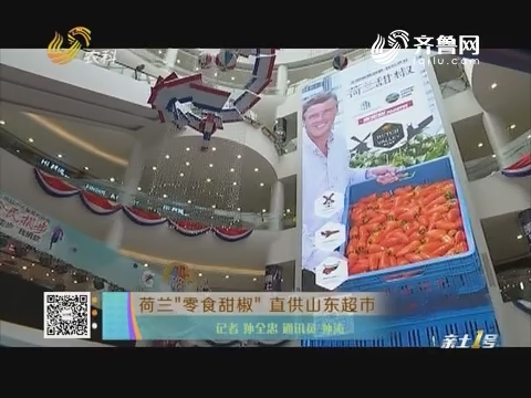 """荷兰""""零食甜椒""""直供山东超市"""