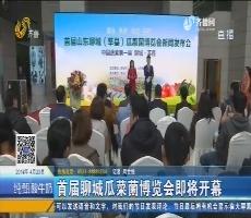 首届聊城瓜菜菌博览会即将开幕