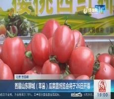 首届山东聊城(莘县)瓜菜菌博览会将于26日开幕