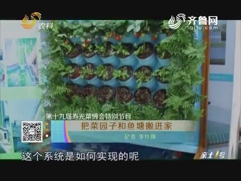 【第十九届寿光菜博会特别节目】把菜园子和鱼塘搬进家