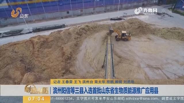 滨州阳信等三县入选首批山东省生物质能源推广应用县