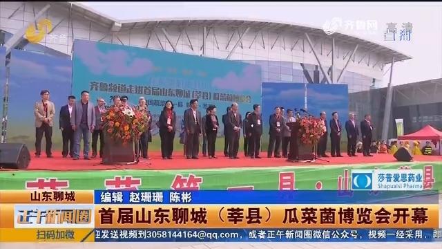 首届山东聊城(莘县)瓜菜菌博览会开幕