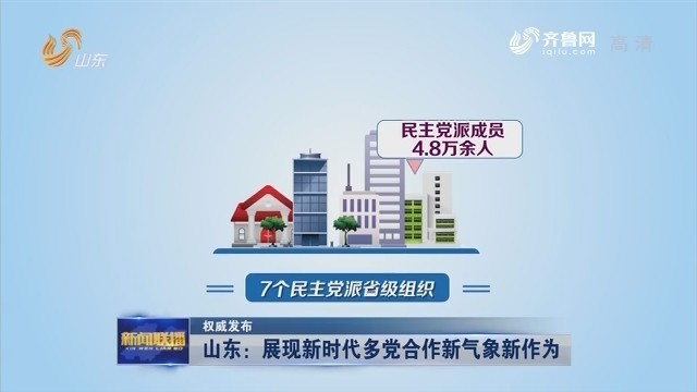【权威发布】 山东:展现新时代多党合作新气象新作为