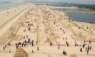 【央视晚间新闻】威海南海新区主题沙雕文化艺术开幕