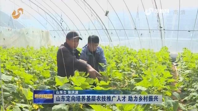 山东定向培养基层农技推广人才 助力乡村振兴