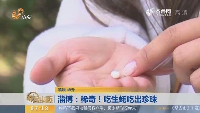 【闪电新闻排行榜】淄博:稀奇!吃生蚝吃出珍珠