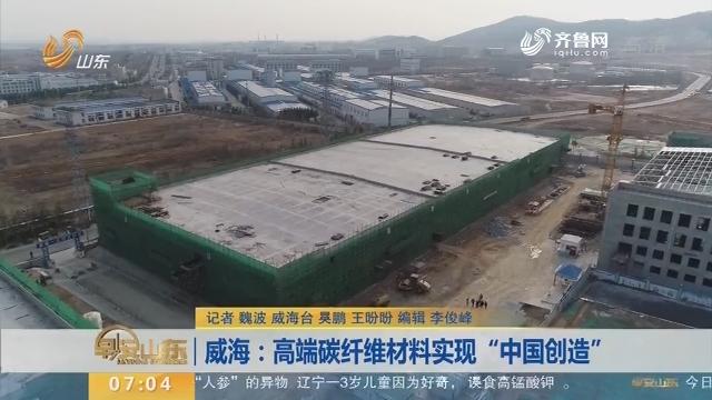 """威海:高端碳纤维材料实现""""中国创造"""""""