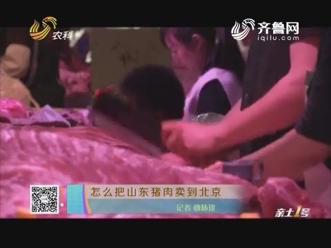 怎么把山东猪肉卖到北京