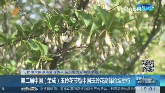 第二届中国(荣成)玉玲花节暨中国玉玲花高峰论坛举行