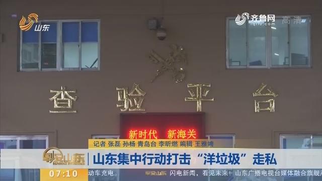 """【闪电新闻排行榜】山东集中行动打击""""洋垃圾""""走私"""