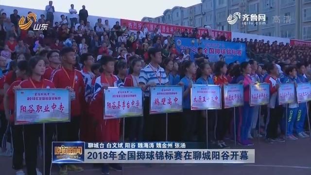 2018年全国掷球锦标赛在聊城阳谷开幕
