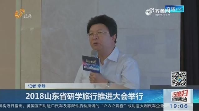 2018山东省研学旅行推进大会举行