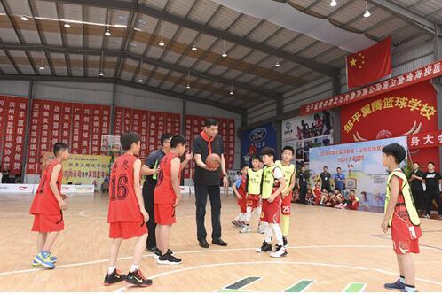 中国小篮球联赛滨州赛区开赛