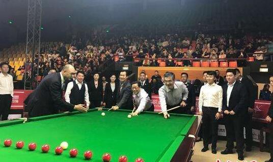 中国斯诺克巡回赛首站淄博揭幕