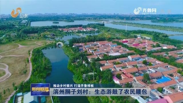 【推动乡村振兴 打造齐鲁样板】滨州狮子刘村:生态游鼓了农民腰包