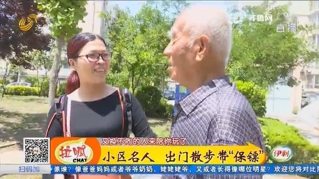 """平原:小区名人 出门散步带""""保镖"""""""
