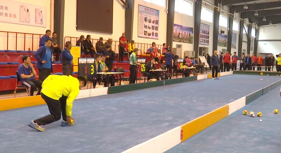 2018全国掷球锦标赛在阳谷举行