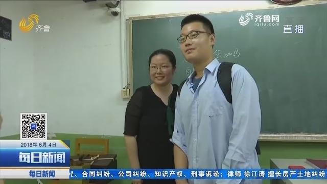 学生:我的老师就像妈妈一样