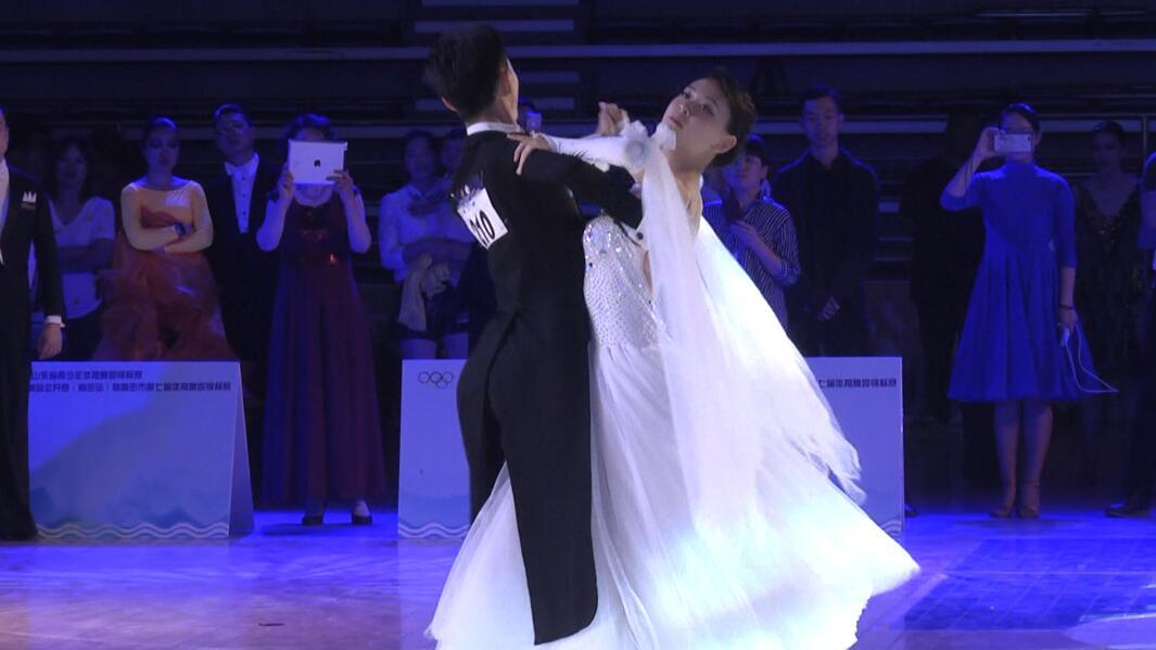 山东省首届青少年体育舞蹈锦标赛在高密开赛