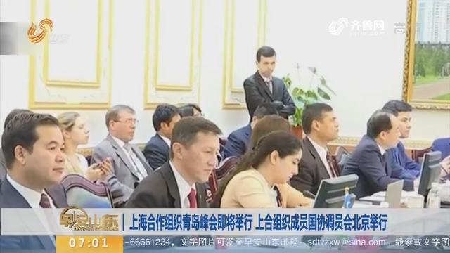 上海合作组织青岛峰会即将举行 上合组织成员国协调员会北京举行