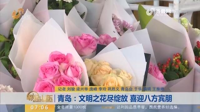 青岛:文明之花尽绽放  喜迎八方宾朋