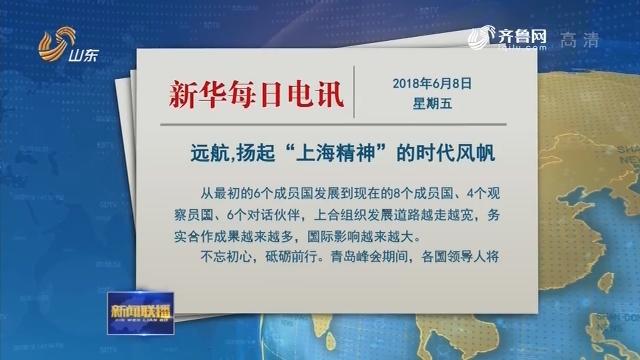 """【相约上合·有朋远方来】新华每日电讯文章:远航,扬起""""上海精神""""的时代风帆"""