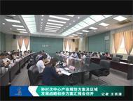 孙村次中心产业规划方案及区域发展战略初步方案汇报会召开