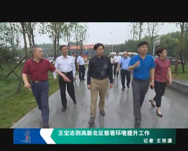 王宏志到高新北区察看环境提升工作