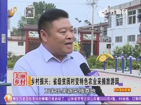 乡村振兴:省级贫困村变特色农业采摘旅游园