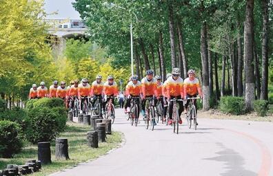 威海:山地自行车骑行赛