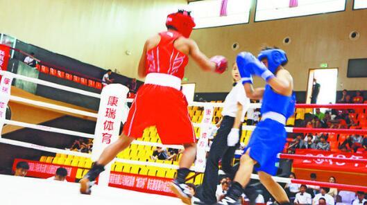 """淄博:第二届""""城市杯""""青少年拳击邀请赛"""