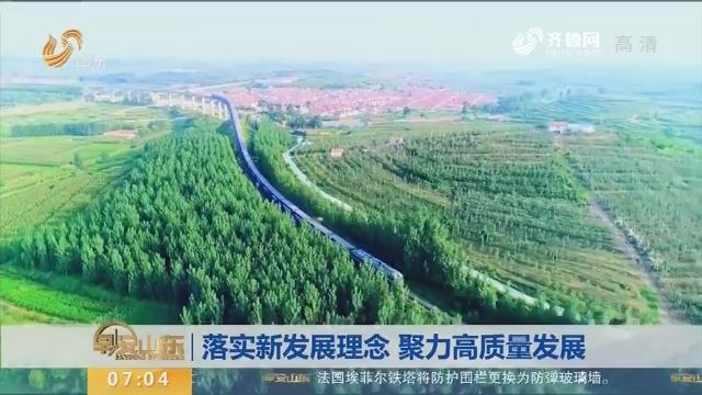 【在习近平新时代中国特色社会主义思想指引下】落实新发展理念 聚力高质量发展